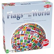 Tactic Games Flags Around The World Board Game