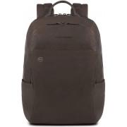 Piquadro Black Square Backpack dark brown