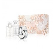 Bulgari Cofanetto Omnia Crystalline + Body Lotion +bath And Shower Gel + Trousse