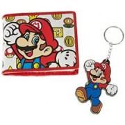Set Portofel Si Breloc Super Mario Bros. Mario