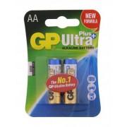 Baterie alcalina R6 (AA) 2buc/blister UltraPlus GP