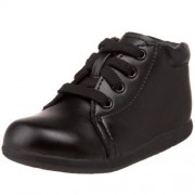 Stride Rite SRT Elliot Bootie (Infant/Toddler),Black Leather,4 W US Toddler