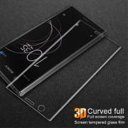 Protecteur Écran En Verre Trempé Couverture Complète Courbes 3d Transparent Pour Votre Sony Xperia Xz1 Compact - Psvl Europa