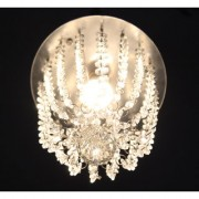 Discount4product Crystal Hanging Pendant Hanging Light Hanging Lamp Fixtures Dining Room Lights