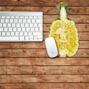Mouse Pad PAG Sticker Mouse Mat Decal Waterproof Removable Desk Stickers Pineapple Home Decor Gift