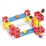 Joc de constructie cuburi pentru copii Cuboga Quercetti 50 piese