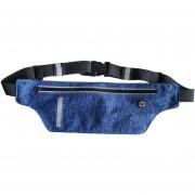 Paquete De La Cintura De Prueba De Agua Para Los Hombres Mujeres Fanny Packs Cinturón De Dinero Bolsos Viajes Deportivos Teléfono Móvil Bolso Compatible Con Menos De 6.0 Pulgadas Móvil (azul)