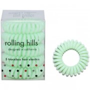 Rolling Hills Professional Hair Rings Grass Green