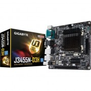 Placa de baza GIGABYTE GA-J3455N-D3H, Intel Quad-Core Celeron® J3455 SoC, Mini ITX, Dual Lan, Dual Serial port
