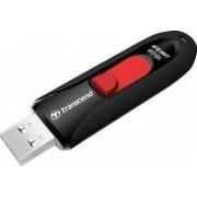 USB Flash Drive Transcend JetFlash 590 16GB USB 2.0 Black Red