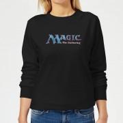 Magic The Gathering 93 Vintage Logo Dames Trui - Zwart - M - Zwart