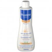 mustela® bébé Reinigungsmilch für trockene Haut