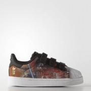 Кроссовки SUPERSTAR STAR WARS CF I adidas Originals Черный 25