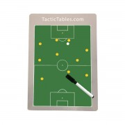 A4 Coachbord Voetbal incl. Magneten