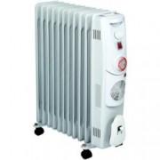 Mаслен радиатор Finlux FR-2711FT,3 степени на мощност, термостат, 23000W, сив