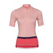 Odlo Funktions-Shirt, Stehkragen rosa