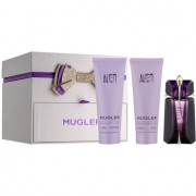 Mugler Alien coffret XIII. Eau de Parfum 60 ml + leite corporal 100 ml + gel de duche 100 ml