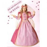 Costume Principessa in Rosa tg. 5/6 anni