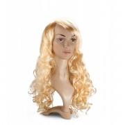 LOVE AND VIBES Perruque Cheveux Blonds Longs et Bouclés