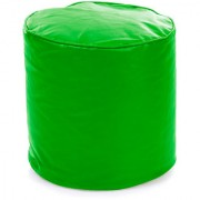 Home Story Round Ottoman Medium Size Green Cover Only