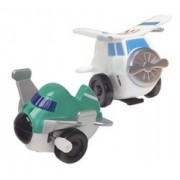 Flipping Flyers AIRPLANE Wind Up Toy - They Flip Backwards As They Move! by D8