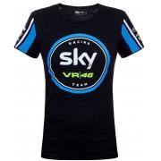 VR46 Sky Racing Team Undertröjor för kvinnor Svart Blå M