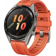 "Smartwatch Huawei Watch GT, AMOLED 1.39"", 8MB RAM, 128MB Flash, Bluetooth, Bratara silicon, Android si iOS (Portocaliu)"