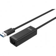 Adaptor Unitek Fast Ethernet; Y-1468, USB, Negru