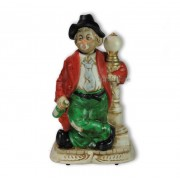 Melody in Motion Porzellan-Figur Pennerwilli an der Lampe