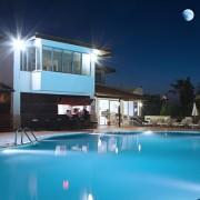 Kültéri LED reflektor alumínium világítás 150 W hideg fehér
