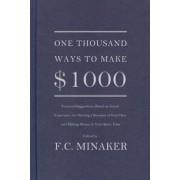 One Thousand Ways to Make $1000, Paperback