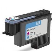 HP 72 Cyan and Magenta Printhead pro DJ T1100 (C9383A) - originální