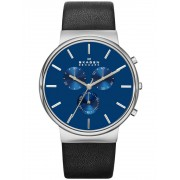 Ceas barbatesc Skagen Ancher SKW6105 Cronograf 40 mm