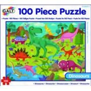 Puzzle - Taramul Dinozaurilor 100 piese