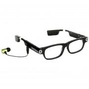 Louiwill Lentes De Cámara De Video Usable Con Auriculares Bluetooth Y Amp; Drive Safe Assist (Negro)
