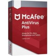 McAfee Antivírus Plus 2020 3 Dispositivos 1 Ano