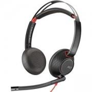 Професионална микрогарнитура Plantronics Blackwire C5220 USB-А, 207576-01