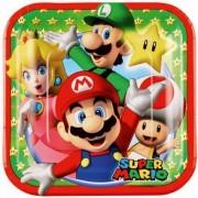 Bordjes Super Mario klein