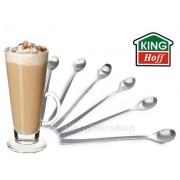 6 ŁYŻECZEK KOKTAJLOWYCH DO LATTE DESERÓW ICE COFFEE