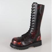 cipő GRINDERS - 14 lyukú - High Ranger - Burgundy