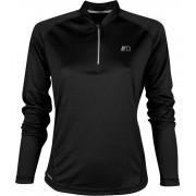 NEWLINE BASE Dámské běžecké tričko se zipem 13370-060 černá L
