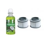 Hanscraft Kartušový filtr pro vířivky Hanscraft MSpa + inSPAration aromatická sůl