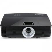 Мултимедиен проектор Acer Projector P1285B, DLP, XGA (1024x768), 20000:1, 3300 ANSI Lumens, 3D, HDMI/MHL, VGA, RCA, MR.JM011.00F_WIRE_KIT