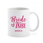 Confetti Personalised Coffee Mug - Bride Tribe