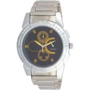 Ismart Sliver Fancy Black Speed Print Dial Men Analog i3 Watch