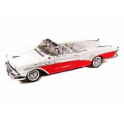 1957 Buick Roadmaster 1/18 Red & White
