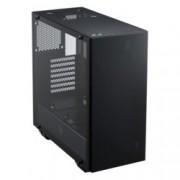 Кутия Fortron CMT510, ATX/mATX/miniITX, 2x USB 3.0, страничен прозорец, черна, 4x 120мм RGB вентилатора с подсветка, без захранване