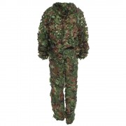 2016 Newest Lifelike Hunting 3D Tactical Camo Leaf Camouflage Suits Ghillie Bionic Training Suit Set CS Savage Kit Storage