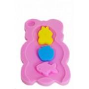 Burete suport baie pentru cadita Little Mom Pink