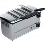 """Diamond Toaster (croque-monsieur) électrique 4 pinces """"Silver"""" Minuterie avec alarme sonore 37x22x(H)21cm 1730W"""
